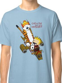 Calvin and Hobbes : Superjet Classic T-Shirt