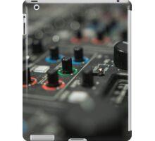 Video mixer iPad Case/Skin