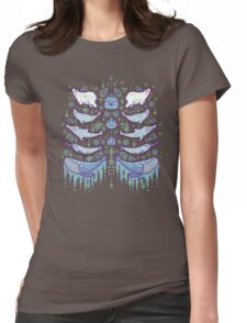 Water chest Womens Fitted T-Shirt