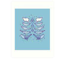 Water chest Art Print