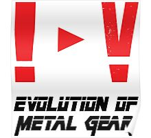 Evolution of Metal Gear Poster