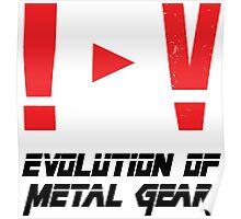 Evolution of Metal Gear Poster