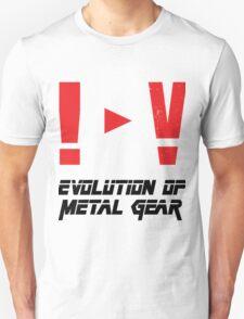 Evolution of Metal Gear T-Shirt