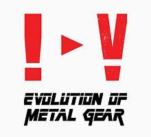 Evolution of Metal Gear Unisex T-Shirt