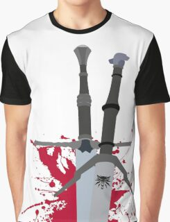 THE WITCHER SWORD Graphic T-Shirt