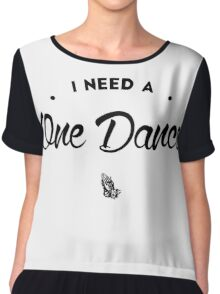 Dance - version 2 - black Chiffon Top