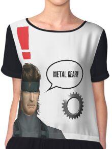 Metal Gear? Chiffon Top