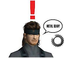 Metal Gear? Photographic Print