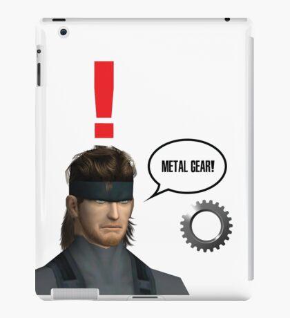 Metal Gear? iPad Case/Skin