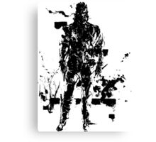 Big Boss MGS3 Canvas Print