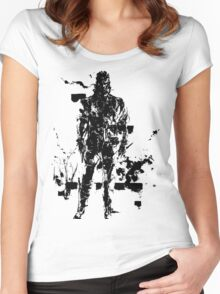 Big Boss MGS3 Women's Fitted Scoop T-Shirt