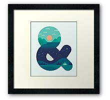Day & Night Framed Print