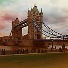 Dusk @ London Tower Bridge  by Arvind Singh