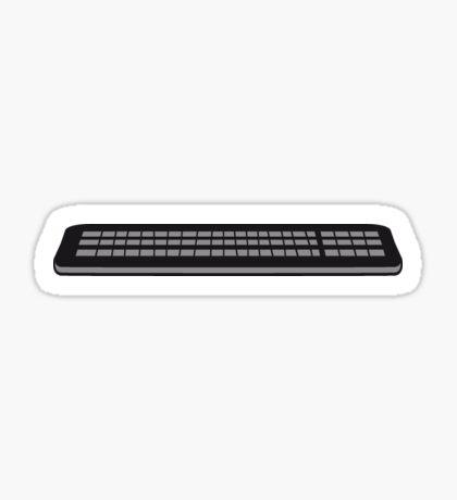 Press control keyboard pc computer keys write Sticker