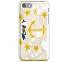 Rhode Island Splatter iPhone Case/Skin