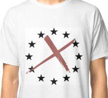 Anti EU Design Classic T-Shirt