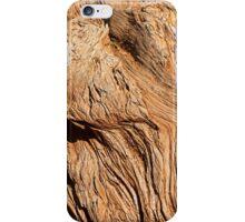 Grain in dead tree iPhone Case/Skin
