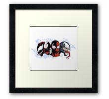 Carnage Venom Framed Print