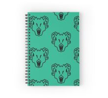 State Of Shock Spiral Notebook