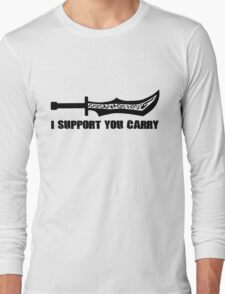 #i support you carry Long Sleeve T-Shirt