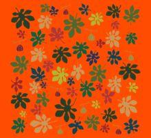 Colorful fig tree pattern Kids Tee
