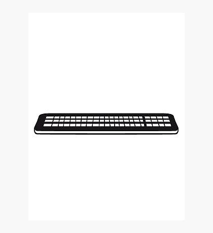 Press control keyboard pc computer keys write Photographic Print