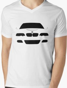 BMW M3 E46 Mens V-Neck T-Shirt