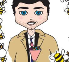 Bee Mine! - Castiel from Supernatural Sticker