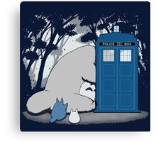 Totoro My Neigbour,Dr Who Canvas Print