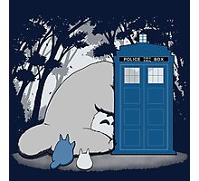 Totoro My Neigbour,Dr Who Photographic Print