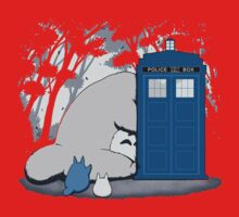 Totoro My Neigbour,Dr Who One Piece - Short Sleeve