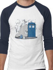 Totoro My Neigbour,Dr Who Men's Baseball ¾ T-Shirt