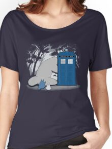 Totoro My Neigbour,Dr Who Women's Relaxed Fit T-Shirt