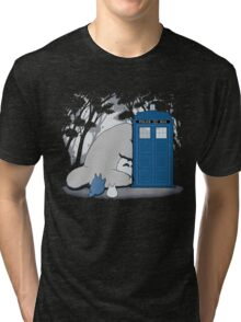 Totoro My Neigbour,Dr Who Tri-blend T-Shirt