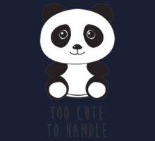 cute panda Kids Tee