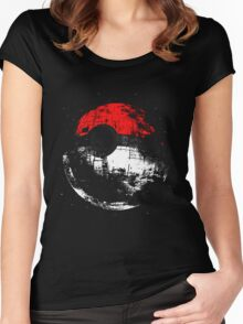 Pokeball Women's Fitted Scoop T-Shirt