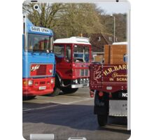 Classic Commercial Lorries  iPad Case/Skin