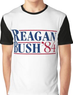 Reagan Bush Graphic T-Shirt