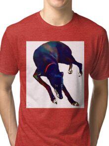 Greyhound Art Tri-blend T-Shirt