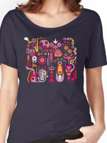 Cubista Colorido Women's Relaxed Fit T-Shirt