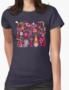Cubista Colorido Womens Fitted T-Shirt