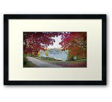 Autumn Mists Framed Print