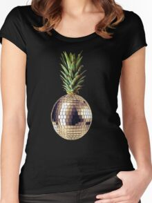 Ananas party (pineapple) Women's Fitted Scoop T-Shirt