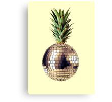 Ananas party (pineapple) Canvas Print