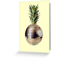 Ananas party (pineapple) Greeting Card