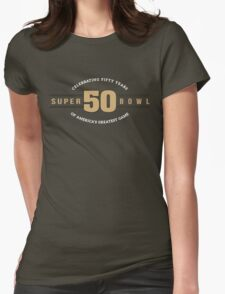 Superbowl 50 Womens Fitted T-Shirt