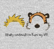 Calvin and Hobbes Quotes One Piece - Long Sleeve