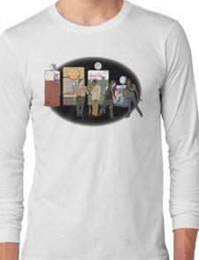 The Walking Nazi Zombie Slayers Long Sleeve T-Shirt