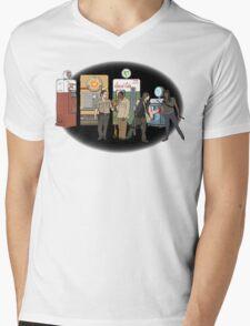 The Walking Nazi Zombie Slayers Mens V-Neck T-Shirt