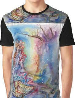 LADY OF LAKE  / Magic and Mystery Graphic T-Shirt